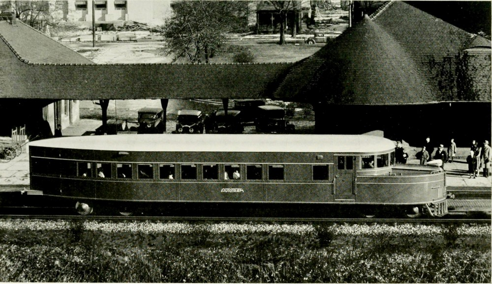 Clark Equipment Autotram 1932
