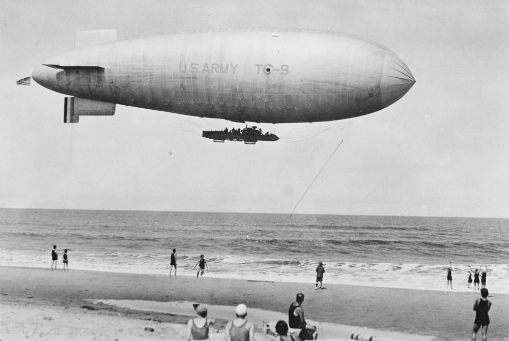 U.S. airship TC-9