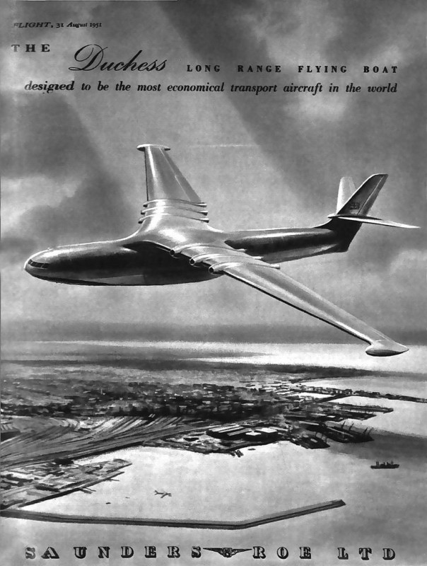 Concept Saunders-Roe Flying Boat  'The Duchess'