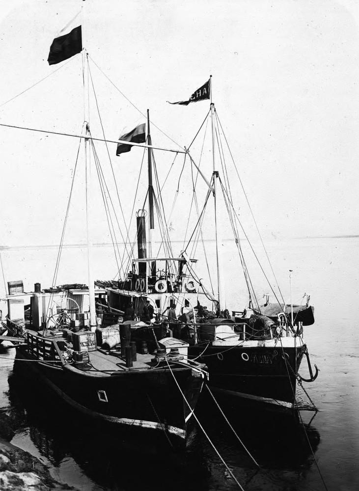 1890. «Виды Якутской области» Пароход «Лена»