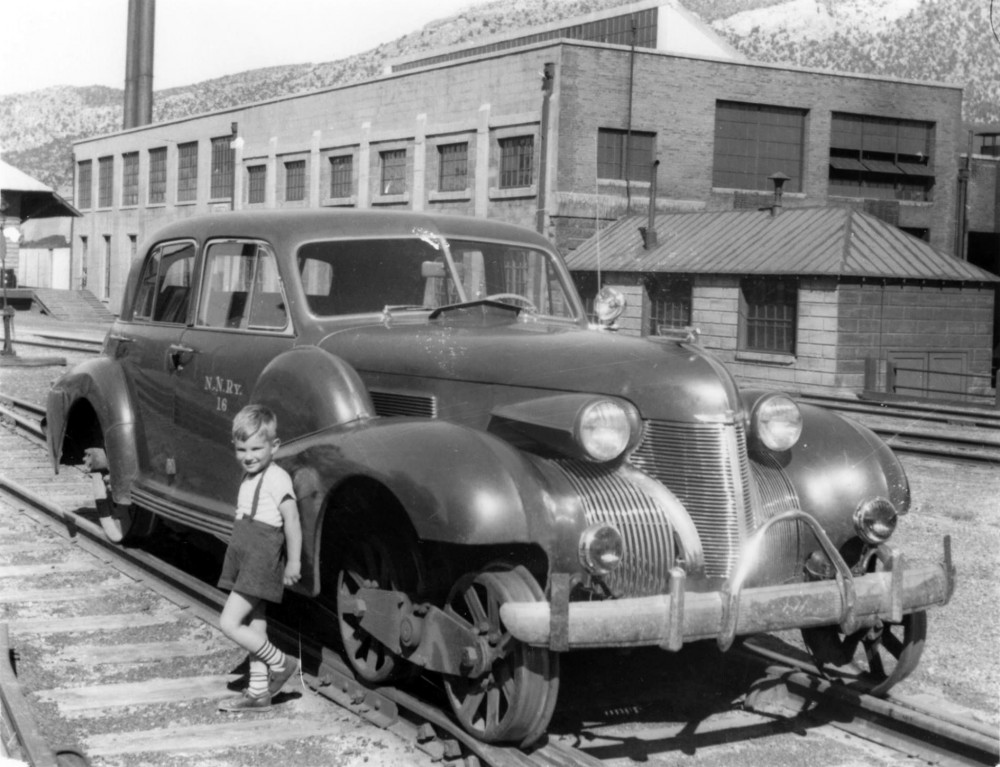 Nevada Northern Railroad Motor Car, 1939 Cadillac
