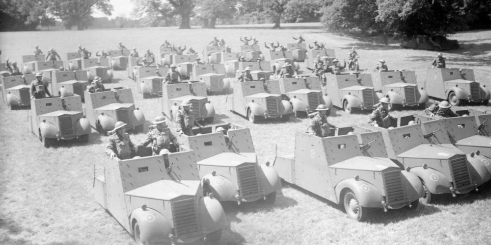 Standard-Beaverettes were stop-gap armoured reconnaissance cars rapidly designed and built in the aftermath of Dunkirk when the BEF had abandoned almost all of its modern equipment