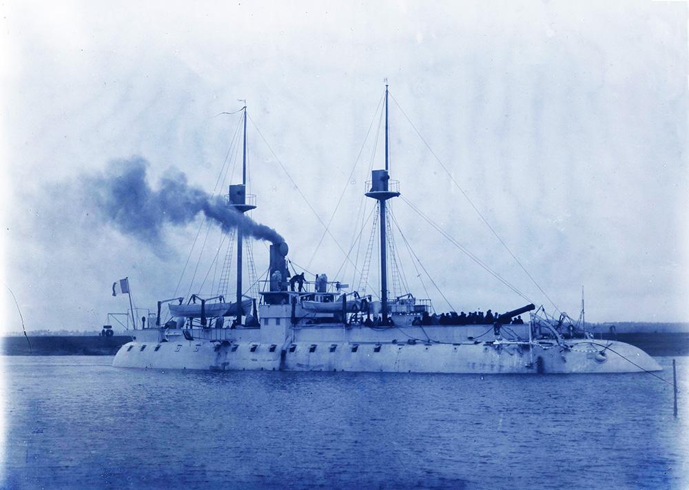 Canonnière cuirassée Mitraille (1886-1910) (~1888)