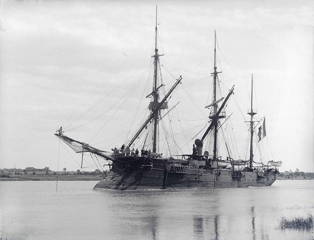 Aviso Dumont d'Urville (1896) launched on 1878