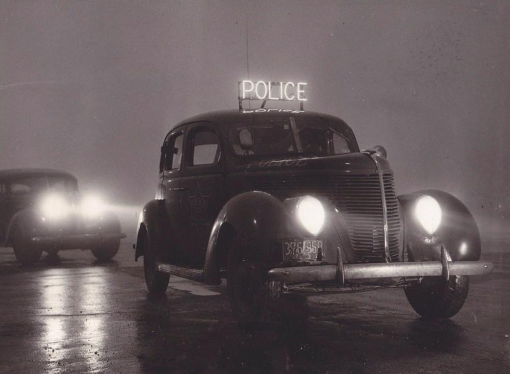 Chicago police car, 1939, Chicago