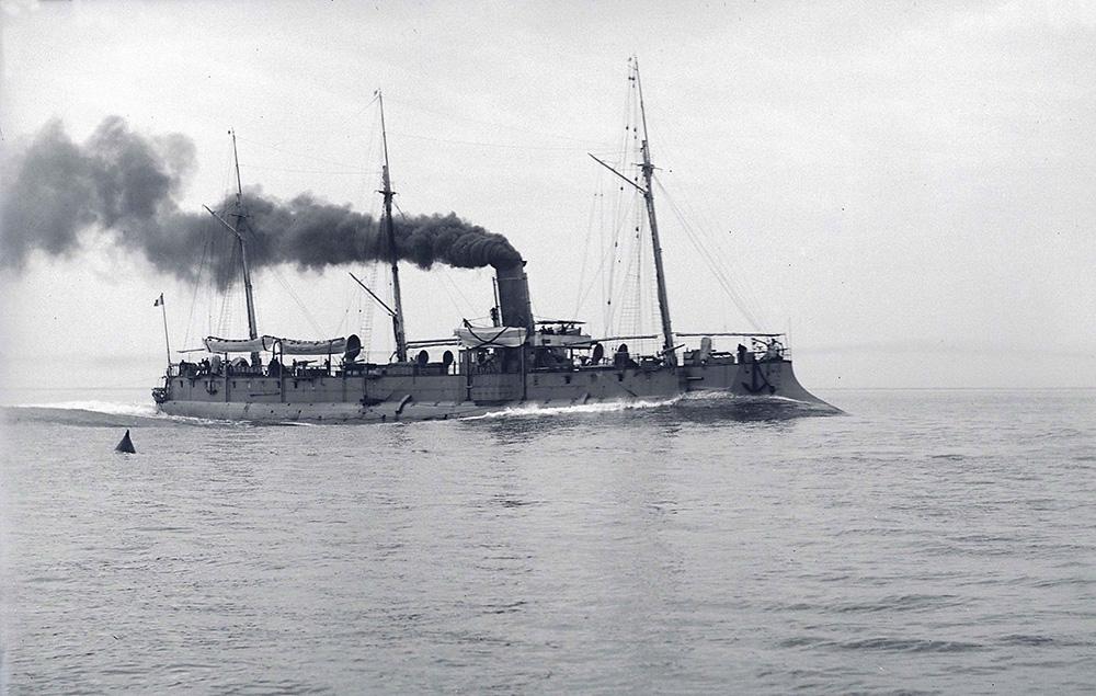 Wattignies [Croiseur-torpilleur] [1892] [MR_5_G_1126]