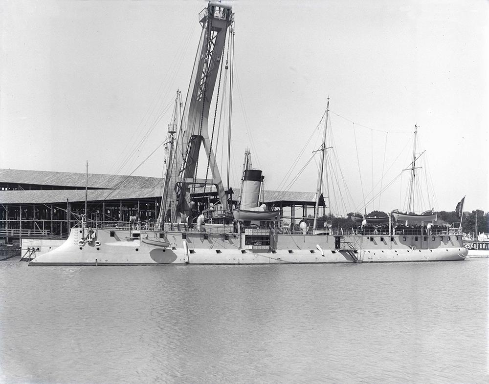 Fleurus [Croiseur-torpilleur] [1900] [MR_5_G_398]
