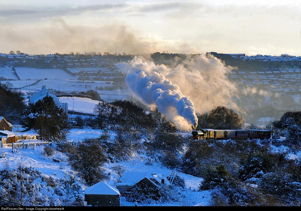Tanfield Railway Steam 0-6-0, Bobgins, Gateshead, United Kingdom, December 10, 2006