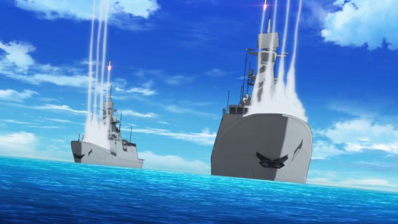 [Erai-raws] Girly Air Force - 01 [720p][Multiple Subtitle][01-43-02]