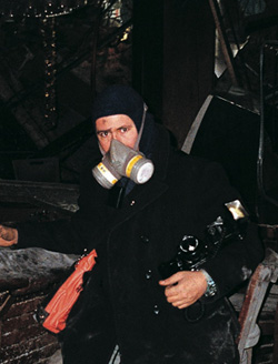Gary Suson, Official Photographer at Ground Zero in WTC Subway, 2001