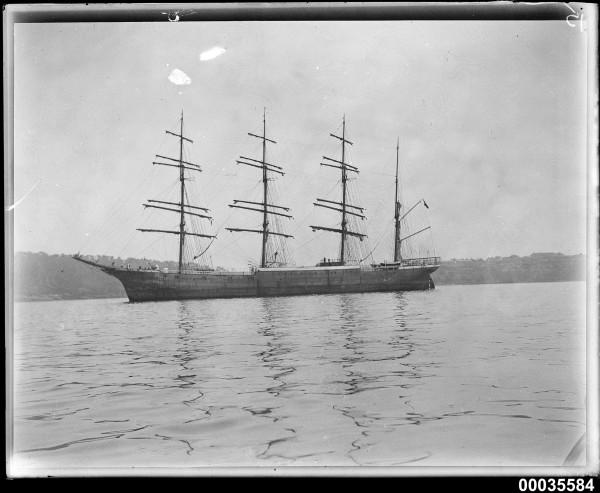 Magdalene Vinnen in Sydney Harbor