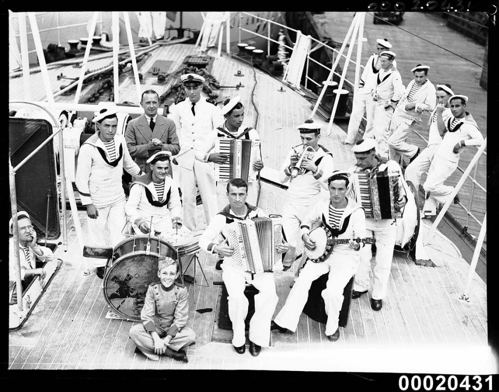 оркестр Жанны Дарк. 1938 год. Визит в Австралию