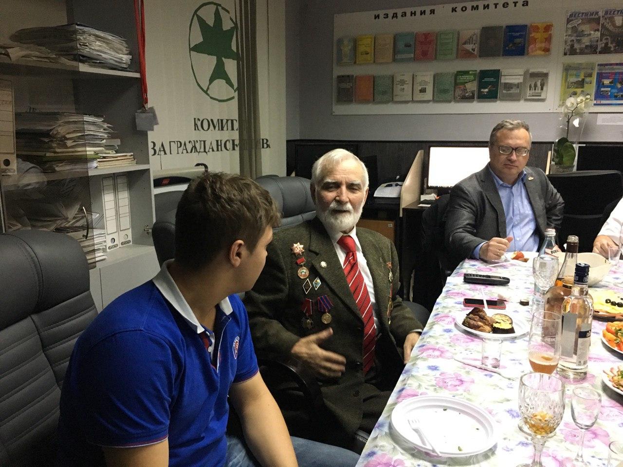 В.Г. Габисов в Комитете