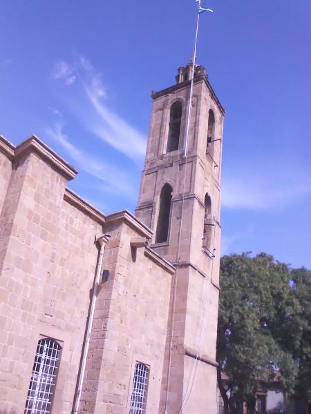 церковь Лазаря вид сзади