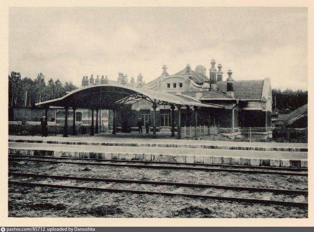 Пассажирская платформа Владыкино