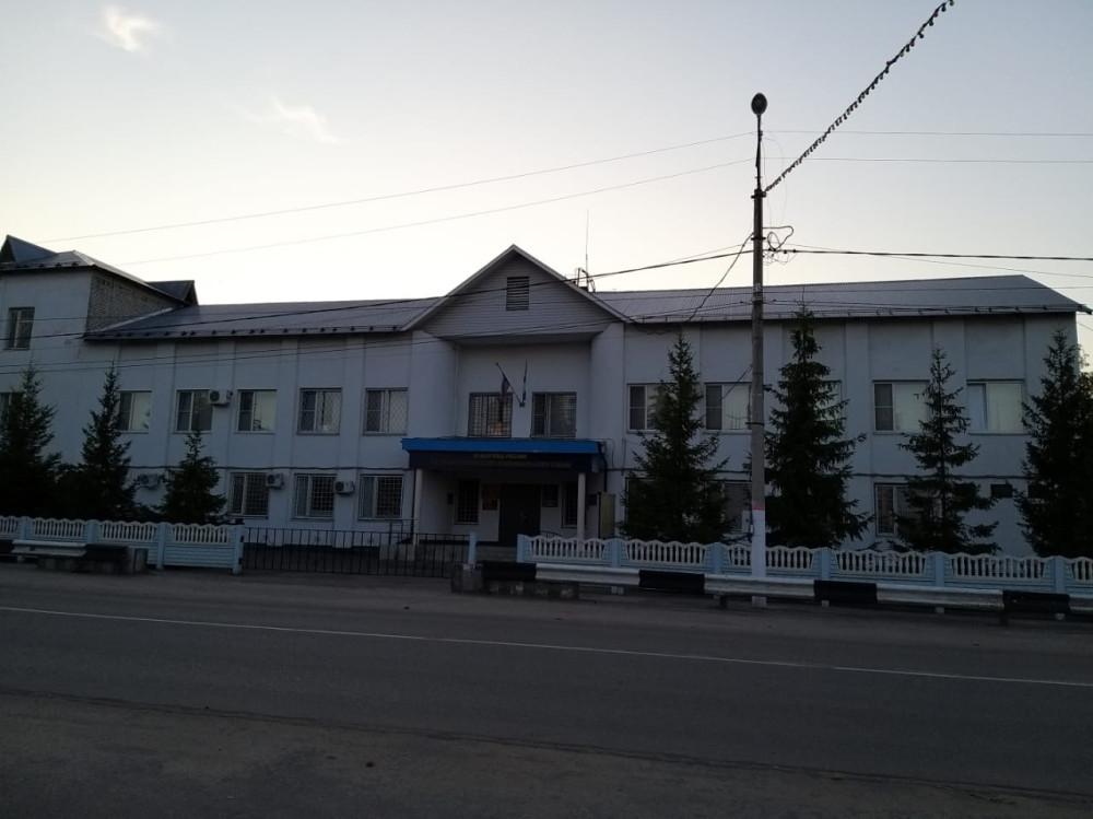 Здание отдела внутренних дел