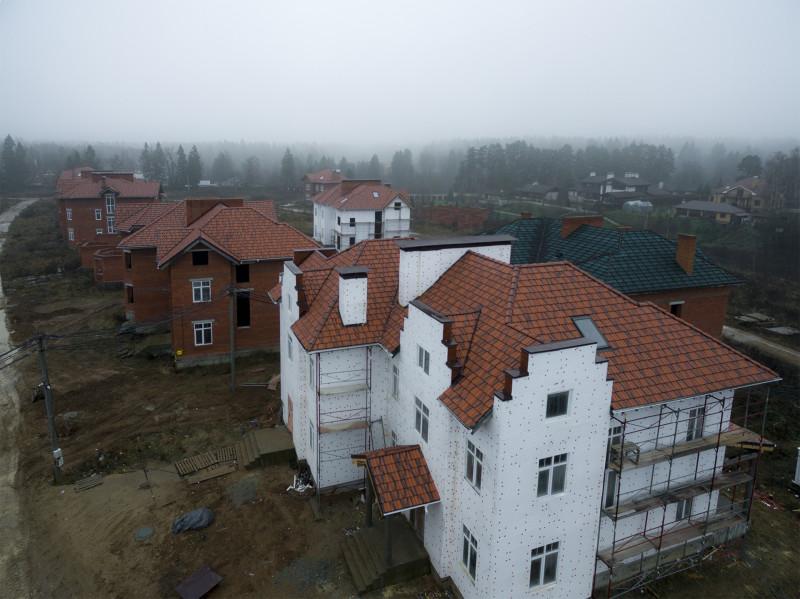 Утепление фасадов 2-й очереди строительства