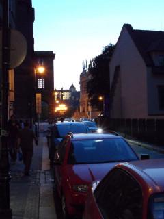 Вечерняя улочка