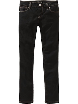 on-black-jeans