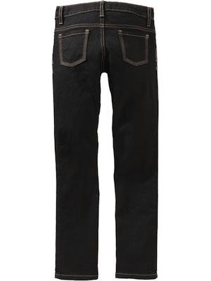 on-black jeans back