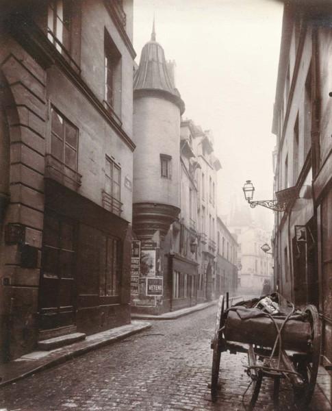 Rue Hautefeuille, 6th arrondissement 1898
