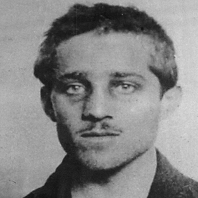 Gavrilo Princip with moustache