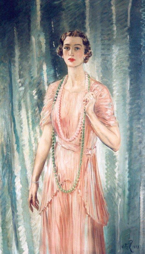 Mrs Edwin D Morgan Jr. 1933. Oil . William Bruce Ellis Ranken (1881-1941)