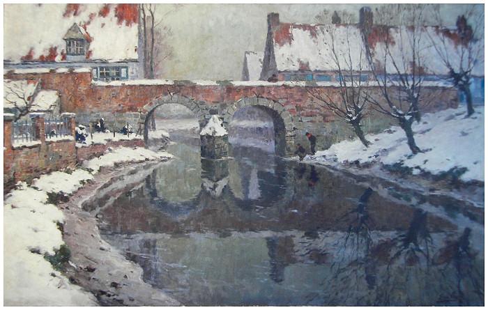 Le moulin à eau de Heule (ca. 1930)