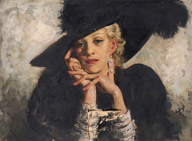 William Bruce Ellis Ranken (1881-1941). Fine Feathers