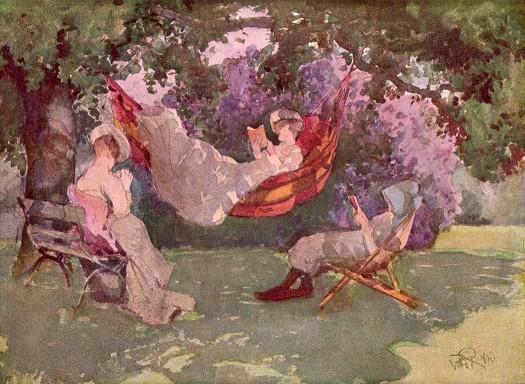 In the Garden. 1902. William Bruce Ellis Ranken (1881-1941)
