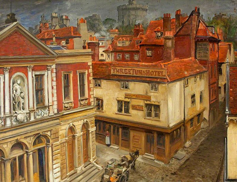Old Town Hall, Windsor. William Bruce Ellis Ranken