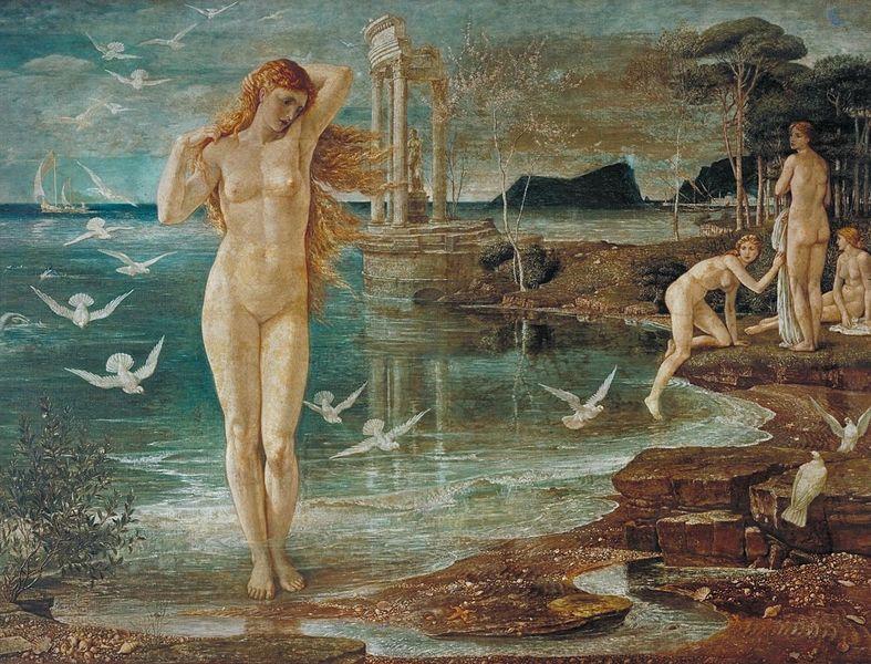 Walter T. Crane - The Renaissance of Venus (1877)