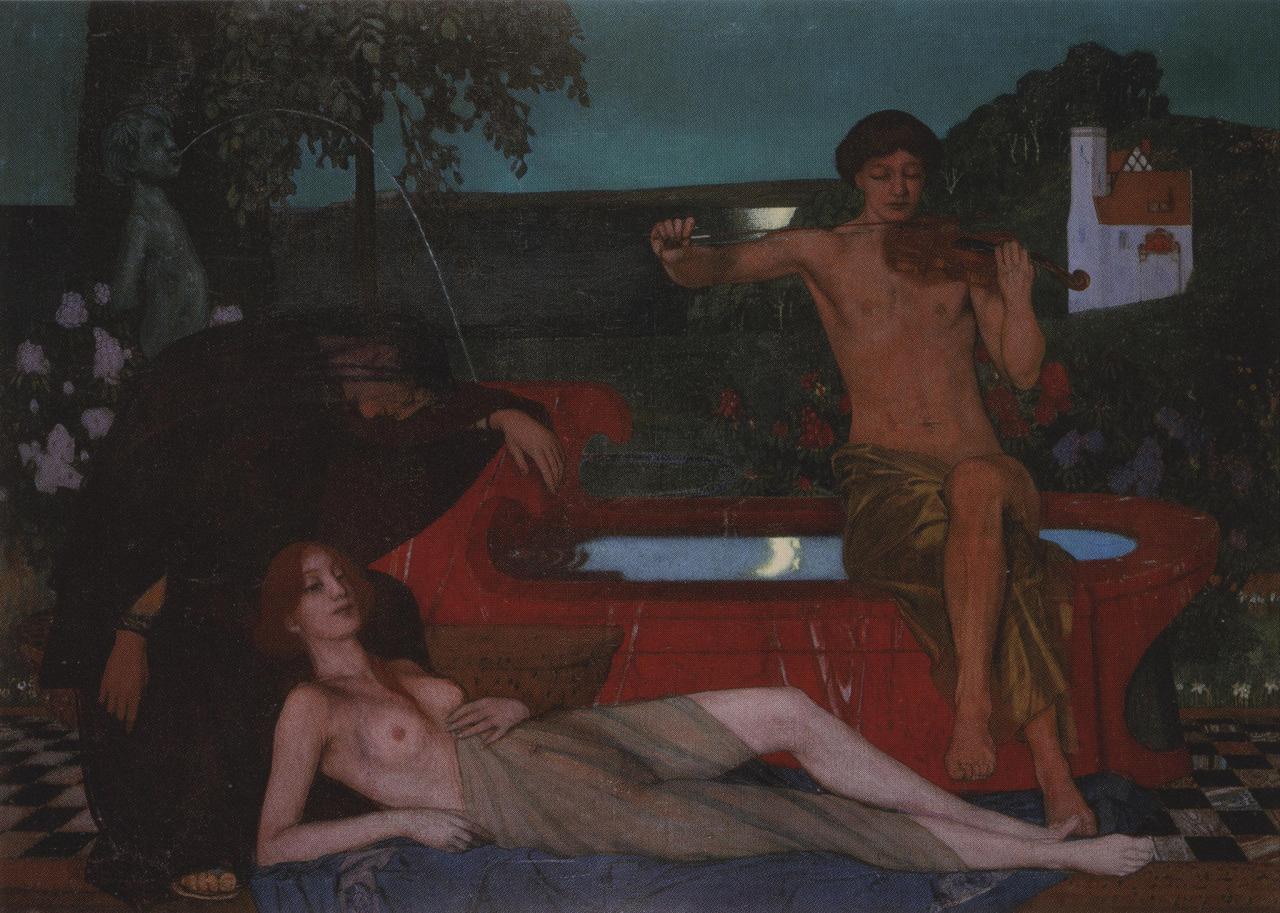 Мелодия (The melody), 1903
