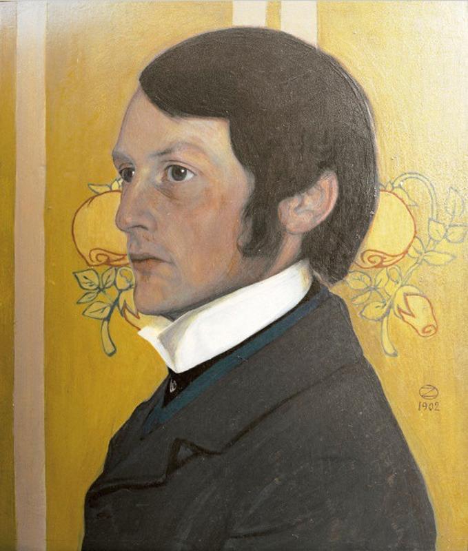 Портрет Генриха Фогелера (Portrait Heinrich Vogeler)