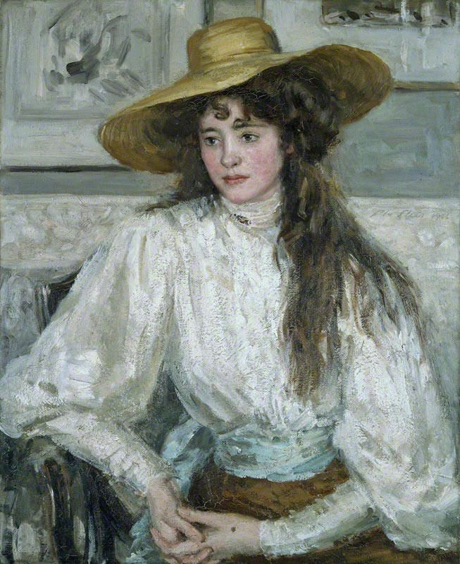 Portrait by Philip Wilson Steer (1860-1942)