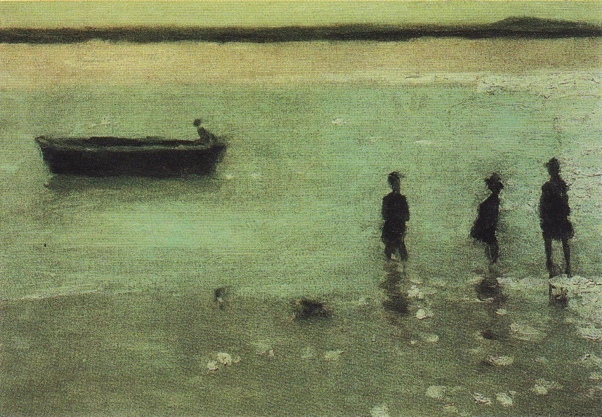 Philip Wilson Steer, The beach at Etaples 1887.