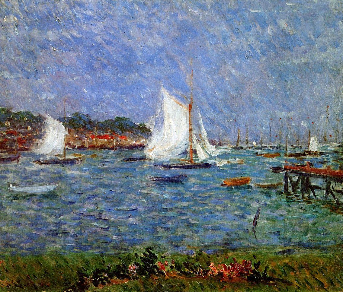Summer at Cowes.1883