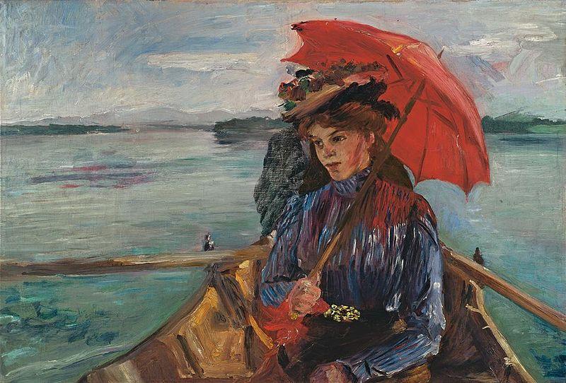 Lovis Corinth - Fräulein Heck (1897)