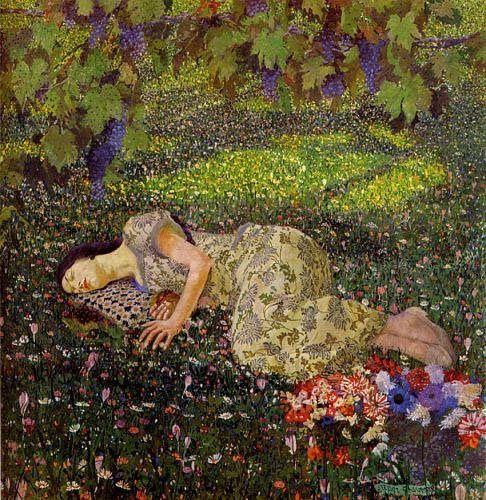 Dreaming of Pomegranates, 1913 - Феличе Казорати