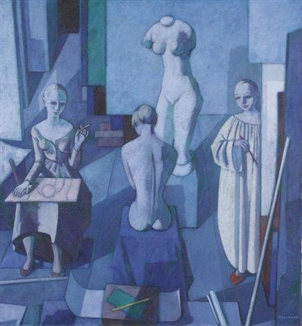 Lo studio by Felice Casorati