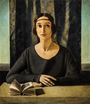 Ritratto di Cesarina Gualino. Felice Casorati