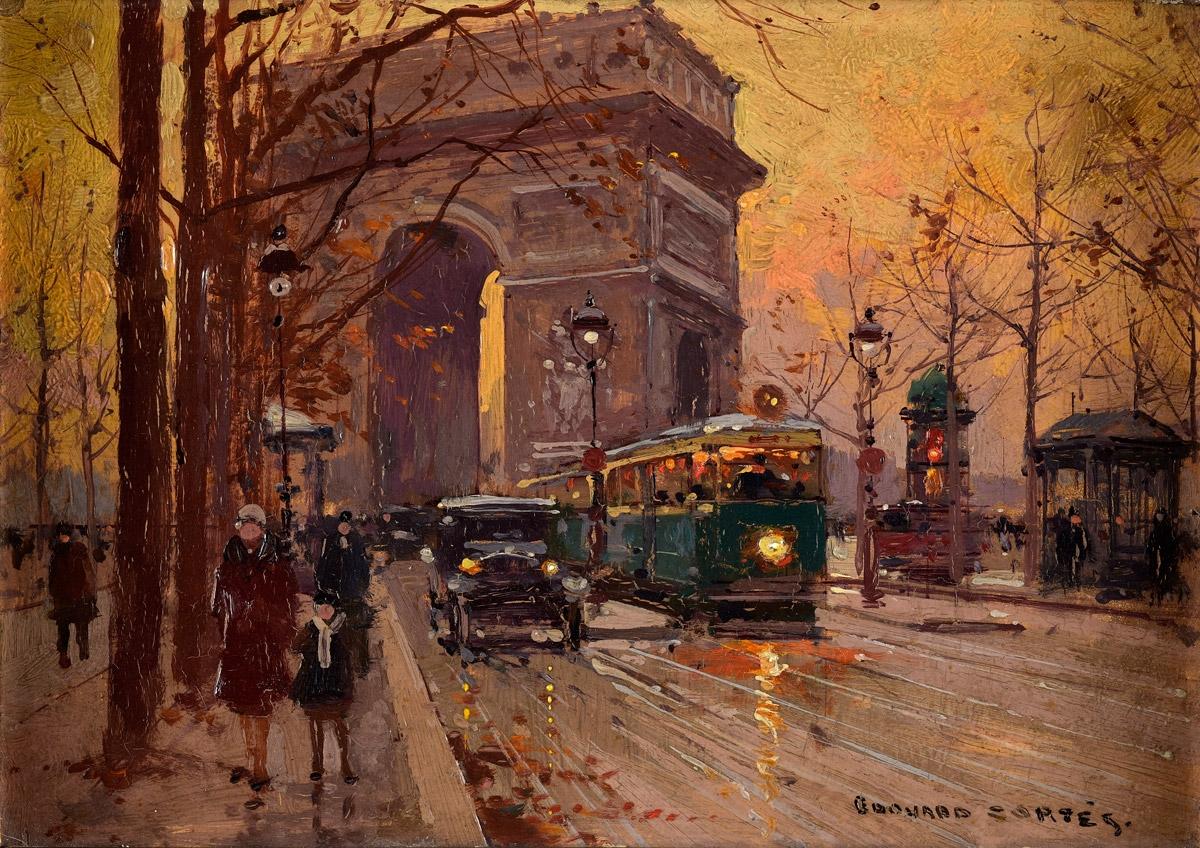Cortes, Édouard 1882 Lagny-sur-Marne - 1969 Lagny-sur-Marne Arc de Triomphe.jpg
