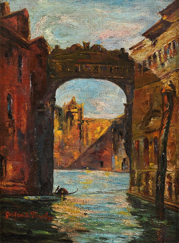 Latouche, Gaston 1854 Saint Cloud - 1913 Paris Venezianische Kanalszene.jpg