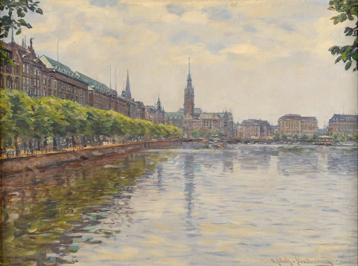 Schulz-Stradmann, Otto 1892 Hamburg - 1960 München. Hamburg.jpg