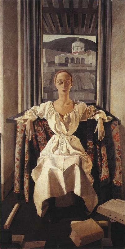Silvana Cenni. Феличе Казорати · 1922