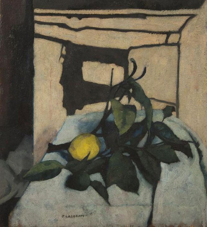 """""""Still life with lemon"""", 1937, Museu de Arte Contemporânea da Universidade de São Paulo, Brazil"""