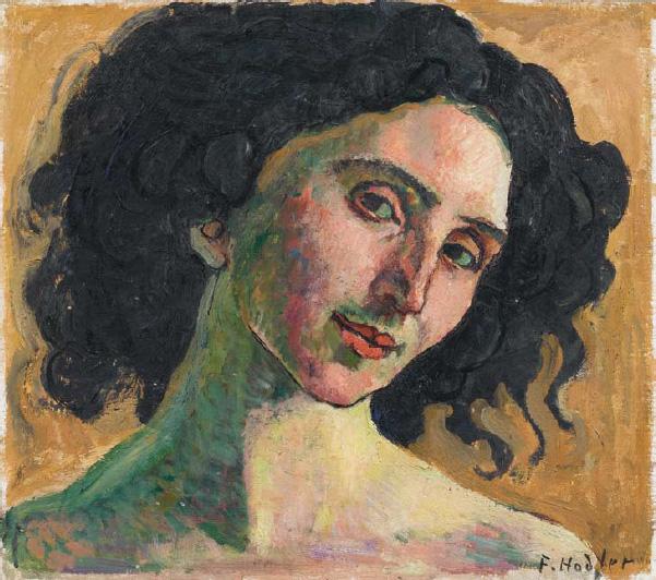 Portrait of Giulia Leonardi. Ferdinand Hodler / Фердинанд Ходлер