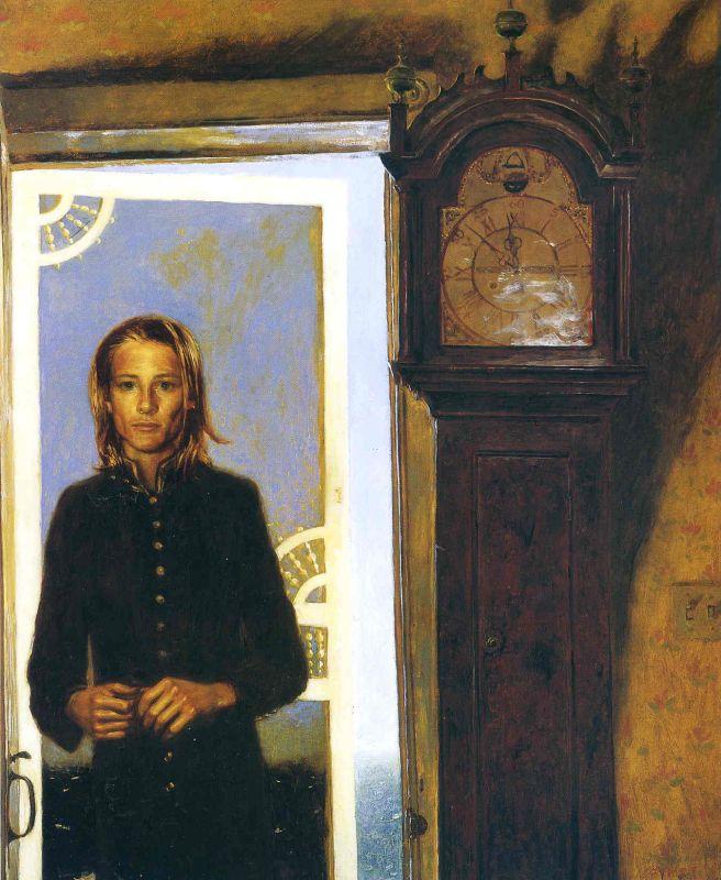 Дверь. Джейми Уайет. 1994