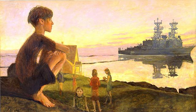 Battleship. 2002. Jamie Wyeth