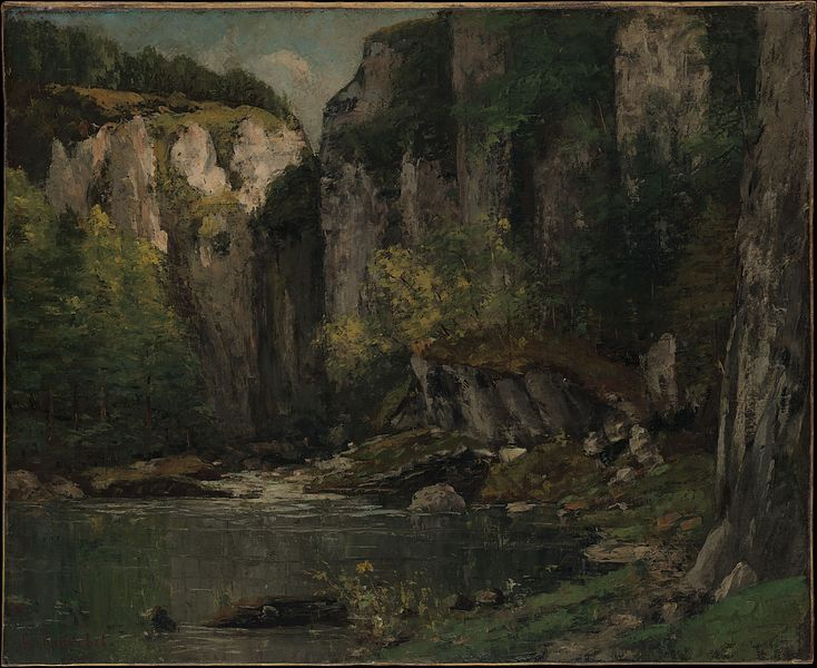 River and Rocks. 1873–77